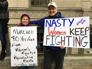 Signs Spotted at the Women's March on Washington