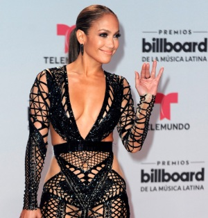 JLO Stuns on the Red Carpet at Billboard Latin Music Awards