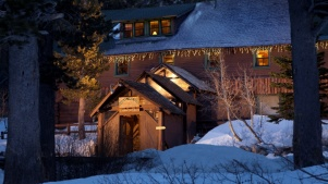 Tuck in at Tamarack Lodge on the Off-Season