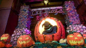A Haunting Hotel Oogie Boogie Display
