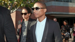 "Pharrell: I Didn't Copy Marvin Gaye With ""Blurred Lines"""