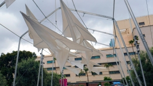 Grand Park New: 'Paper Airplane' Canopy