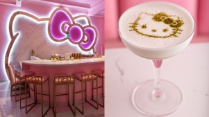 Sip a Cocktail at the New Hello Kitty Grand Cafe