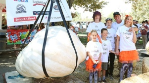 Great Pumpkin Weigh-Off at Irvine Park Railroad