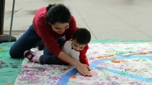 Unity Celebration: Kidspace Peace Mural