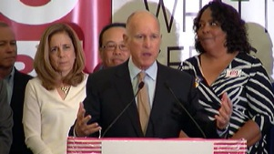 Brown: CA Voted to Raise Taxes for