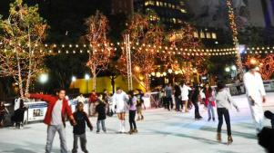 Pirouette at Pershing Square's Bai Holiday Ice Rink