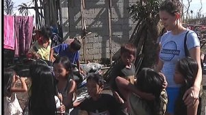 Humanitarian Aids Town in Philippines