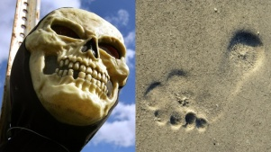 Spooky Meets the Sand at Doheny State Beach