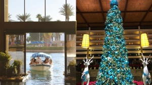 Desert Holiday: Private Boat Rides with Santa