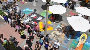 Father's Day Tradition: Pasadena Chalk Festival