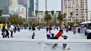 This Week: Pershing Square Ice Rink Opens