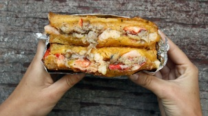 Lobster Grilled Cheese Deal