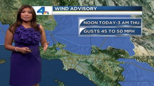 Clouds and cool temperatures are in the forecast. Elita Loresca has the forecast for Wedneday May 22, 2013.