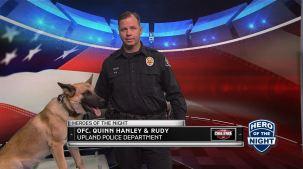 The Challenge Hero of the Night: Officer Quinn Hanley