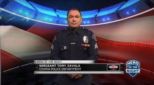 The Challenge Hero of the Night: Sergeant Tony Zavala