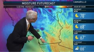 <p>Expect above-average temperatures on Tuesday and Wednesday with a monsoon flow adding some extra humidity. Fritz Coleman has your First Alert Forecast on Monday, July 16, 2018.</p>