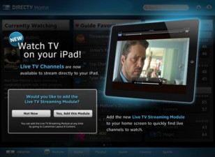 DirecTV Brings Live Streaming TV to Its iPad app