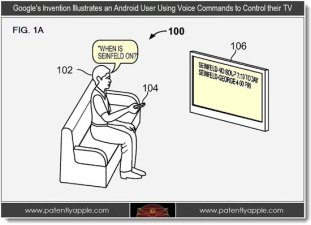 Patent Shows Google Working on Voice Control TV