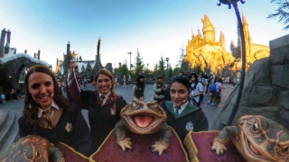 Take a 360-Degree Tour of 'The Wizarding World of Harry Potter'