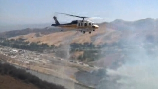 Castaic Brush Fire: 5 Freeway Lanes Reopen