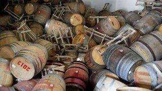 19th-Century Winery Hit Hard By Napa Earthquake