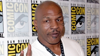 Mike Tyson Hits Comic-Con