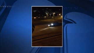 [PHI] Witness Records Car Driving Down Famous Steps