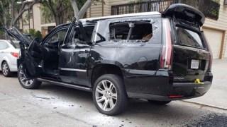 Handcuffed Prisoner Rode in Cop Car During Pursuit, Gunfight