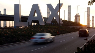 Part of LAX is Closed Tuesday for Bridge Demolition