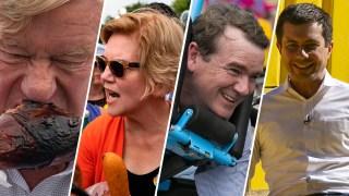 Through the Years: White House Hopefuls Stop at Iowa State Fair