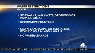 Arcadia Passes Strict Drought Measures