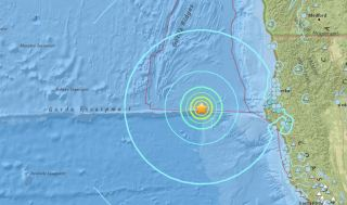 Offshore Magnitude-6.5 Earthquake Shakes Northern CA Coast