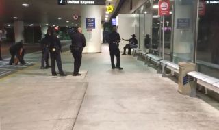 Man in Zorro Costume Detained Ahead of Chaotic Night at LAX