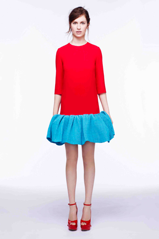 Flared Skirts and Dresses for Pre-Fall