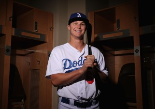 Prospect Pederson Makes Debut in Dodgers Loss
