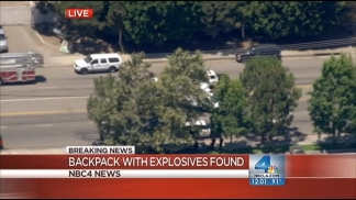 Explosives in Backpack Found at OC Intersection: Sheriff