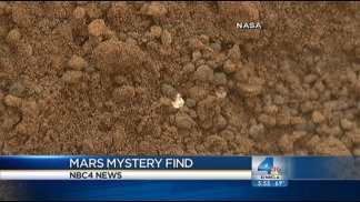 Mars Rover Mystery Uncovered