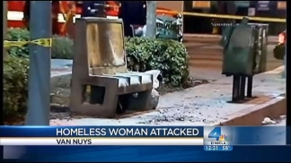 Suspect Arrested in Attack on Homeless Woman