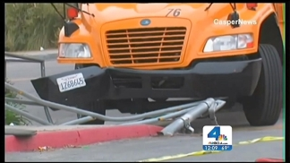School Bus Hits Girl at Elementary School Parking Lot