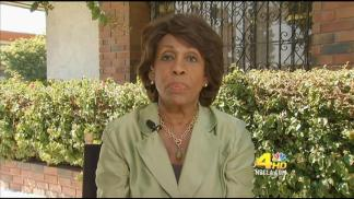 NewsConference: Congresswoman Maxine Waters, Democrat from Los Angeles