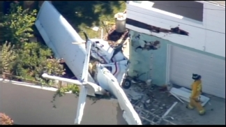 Small Plane Crashes Near Santa Monica Airport