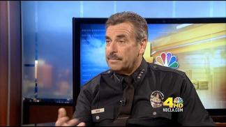 [LA] NewsConference Extra: LA Police Chief Charlie Beck, Part 2