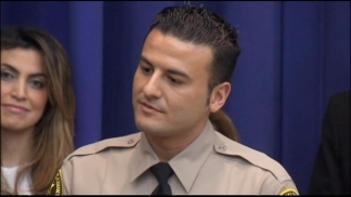 County Honors Reserve Deputy who Caught Arson Suspect