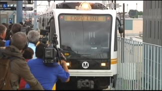 Metro Expo Line Opening in April