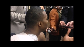 Dwight Howard After Lakers' Loss to Nuggets