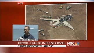RAW VIDEO: Eyewitness Description of Plane Crash