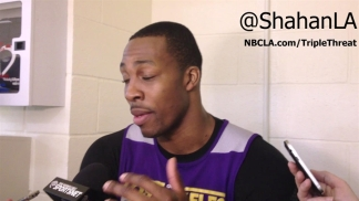 [LA] Dwight Howard Talks Growth With Lakers, Bryant