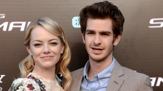 Andrew Garfield & Emma Stone Bring 'Spider-Man' To Top Of The Empire State Building