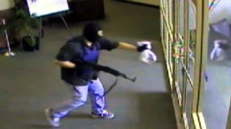Caught on Video: Chino Bank Gunman